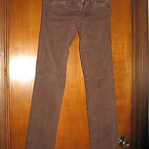 Express Brown Skinny Jeans Size 0 Gently Worn Photo