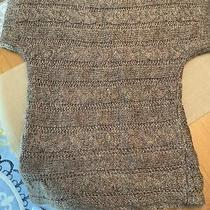 Express Brown Sparkle Sweater Xs New Without Tags Photo