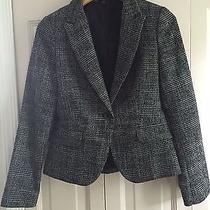 Express Business Casual Jacket - Fall Collection Grey/black - Size 4 Photo