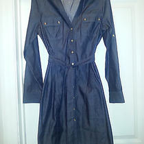 Express Button Down Jean  Dress- Brand New Photo