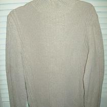 Express Cable Knit Sweater Grey Preppy Cute Comfy L  Photo