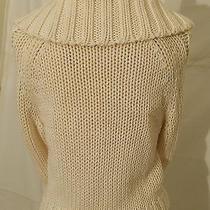 Express Cardigan Sweater Women S Size Xs Ivory Knit Photo