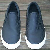 Express Casual Black Slip on Loafers Sneakers Men's Size 10 Photo