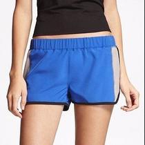 Express Cerulean Blue Gym Yoga Workout Running Shorts Dolphin Hem S Athletic 40 Photo
