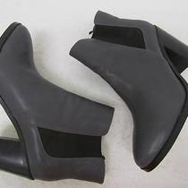 Express Charcol Heeled Chelsea Boot Sz 7 Photo