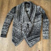 Express Chunky Knit Open Sweater Cardigan- Size Small Photo