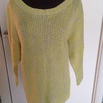 Express Citron Color (So Trendy) Sweater Size S Photo