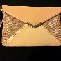 Express Clutch With Wrist Chain Color Blush New Photo