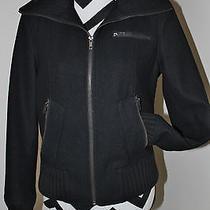 Express Coat Small Wool Black Jacket Photo