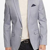 Express Cotton Oxford Blazer Photo