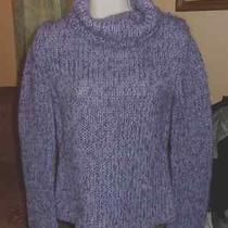 Express Cowl Neck Sweater Size M Mohair/wool/acrylic Guc Photo