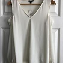Express Cream Cold Sholder Top Nwt Size Xs Photo