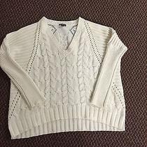 Express Cream Sweater Size Xs Photo