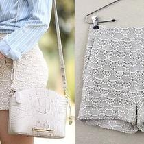Express Crochet Size Zip Shorts - New With Tag - Size 00 Photo
