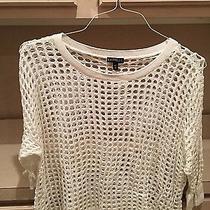 Express Crochet Sweater Size M Photo