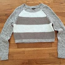 Express Crop Crew Sweater Women's Size S Photo