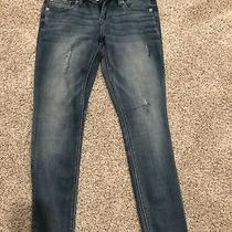 Express Cropped Jean Leggings Size 2 New Photo