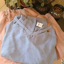 Express Cut-Out Reversible Barcelona Cami - Size Xl - Baby Blue Nwt Tank Photo