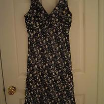 Express  Cute  Black & White Flower Dress       Size 3/4 Photo
