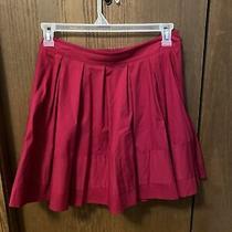 Express Dark Pink Skirt Size 8 Photo