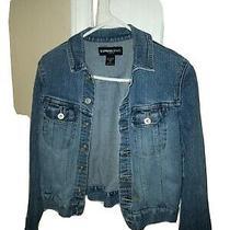 Express Denim Jean Jacket Size Medium  Photo