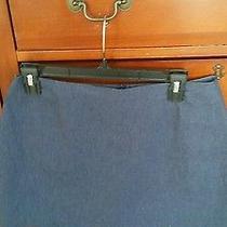 Express Denim Mini Skirt Fully Lined Size 9/10 Photo