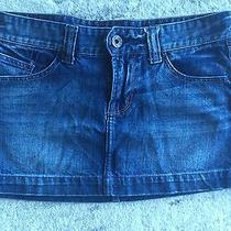 Express Denim Skirt Size 4 Photo