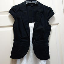 Express Design Studio Black Short Sleeve Blazer - Size 0 Photo