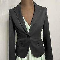 Express Design Studio Blazer Black Womens Size 4 Business Office Formal Photo