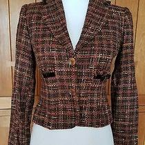 Express Design Studio Blazer Tweed Jacket Size 0 Photo