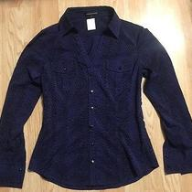 Express Design Studio Buttoned Shirt Size S Photo