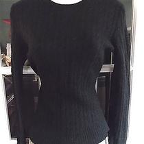 Express Design Studio Cale-Knit Cashmere Blend Sweater Sz S Photo