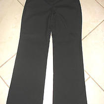 Express Design Studio Dress Pants Size 8 Black Striped Career Wear to Work  Photo