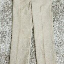 Express Design Studio Editor Beige Dress Pants Sz 4 Photo