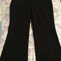 Express Design Studio Editor Black Straight Leg Pants Size 2s Photo
