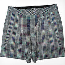 Express Design Studio Editor Plaid Dress Shorts Women's Size 2 Photo