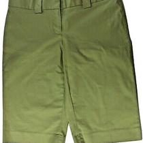 Express Design Studio Editor Women's Bermuda Shorts Green Size 2 Free Shipping Photo