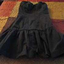 Express Design Studio Feminine Sleeveless Strapless Black Dress  Size 00 Photo