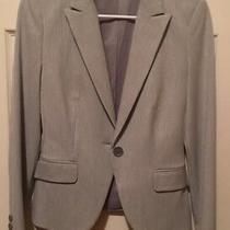 Express Design Studio Gray Suit Jacket Size 2 Photo