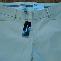 Express Design Studio Khaki Stylist Pants Size 0 Nwt 49.50 Photo