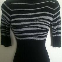 Express Design Studio Mock Neck Short Sleeve Sweater Size Xs Excellent Condition Photo