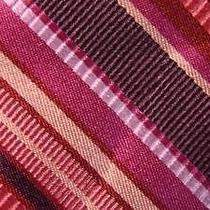 Express Design Studio Violet Red Peach Red Stripe Silk Necktie Tie Moc1216b T07 Photo