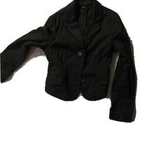 Express Design Studio Women's 6 Black Blazer Jacket Photo