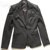 Express Design Studio Womens Blazer Jacket  Black 0 Xs Photo