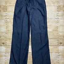 Express Design Studio Women's Denim Blue Correspondent Dress Pants Size 4 Photo