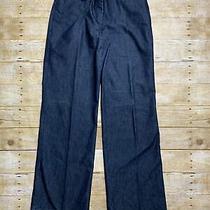 Express Design Studio Women's Denim Blue Correspondent Dress Pants Size 4 Photo