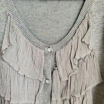 Express Design Studio Women's Gray Cardigan Sweater Size S Photo