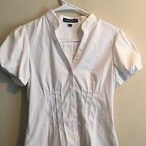Express Design Studio Women's White Blouse Size Small Photo
