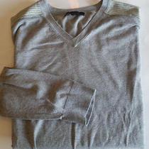 Express Design Studion Mens Sweat Shirt Long Sleeve Gray Xl Photo