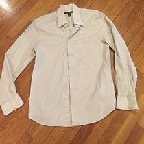Express Design Studios Men's Button Front Dress Shirt Size Medium Photo